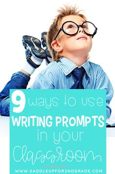 Using writing prompts for your kids in your classroom is a great way to get imaginations going! Check out these 9 unique ways to use writing prompts with your students to help their writing skills improve. #teachingwriting #writingprompts #elementarywriting