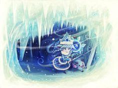 Lulu - Snowstorm by luminaura