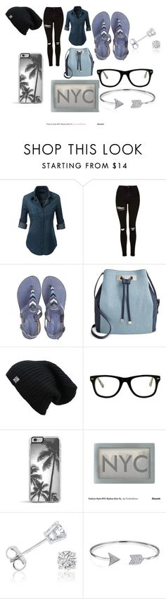 """""""Untitled #29"""" by aniapenguin on Polyvore featuring Topshop, Laidback London, INC International Concepts, Muse, Zero Gravity, Amanda Rose Collection and Bling Jewelry"""