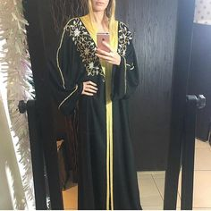 EID abaya with Hand work Swarovski stones  limited
