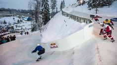 Training Crashed Ice zonder bergen en ijs - Video | Red Bull Snow