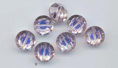 6 awesome and very rare vintage Swarovski crystal by RNEVEBEADS