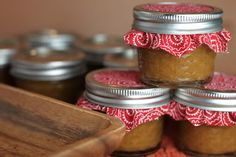 Peach butter - so easy and so good