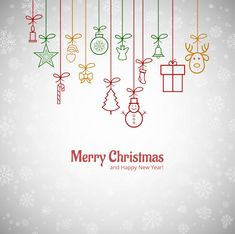 Beautiful merry christmas greeting card with snowflakes background Free Vector Merry Christmas Vector, Christmas Doodles, Merry Christmas Greetings, Merry Christmas And Happy New Year, Christmas Greeting Cards, Christmas Wishes, Merry Xmas, Christmas 2019, Christmas Jesus