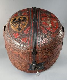 The case for the imperial crown of the Holy Roman Empire, after 1350.