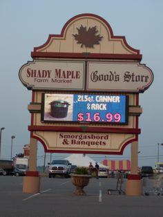 Shady Maple Lancaster PA