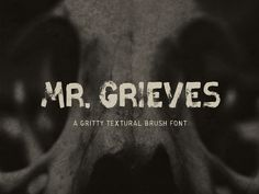 Mr. Grieves - Free Brush Font by Pixel Surplus