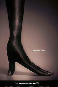 Reklama obuwia handmade