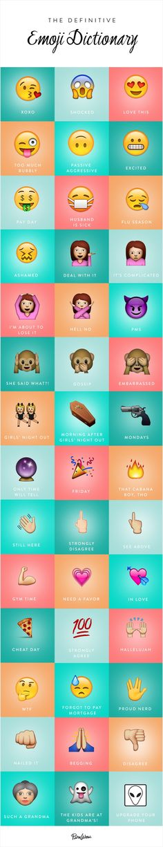 The Definitive Guide to Emojis via @PureWow
