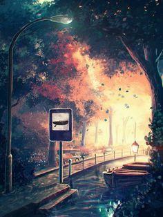 Anime Scenery Wallpaper Fantasy Landscape Landscape Art Fantasy Art Background Designs