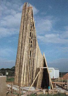 Bruder Klaus Field Chapel, Mechernich Peter Zumthor 2007 #arquitectura #iglesias #peter zumthor