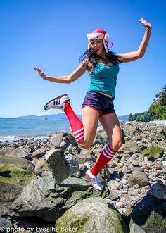 Afternoon jump for joy photo - Aliyah O'Brien!
