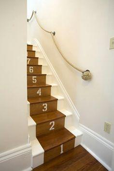 escaleras con barandar de cuerdas - Buscar con Google