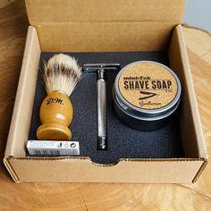 Shave Kit Safety Razor Personalized Double-Edge Shaving