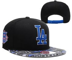 MLB LOS ANGELS DODGERS 9FIFTY Snapback Hats Black 126! Only $8.90USD
