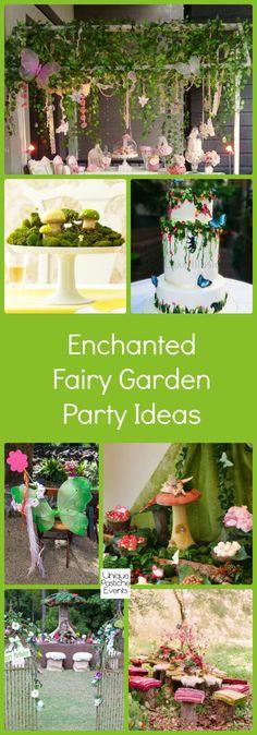 Enchanted Fairy Garden Party Ideas #IdeaBoard #InspirationBoard