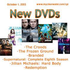 October 1, 2013 New DVDS