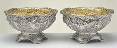 Antique Silver Price Guide: Pair of Tiffany Sterling Silver Bowls with Liners Vintage Silver, Antique Silver, Antique Buyers, Sterling Silverware, Silver Prices, Selling Antiques, Antique Shops, Gold Coins, American Jewelry