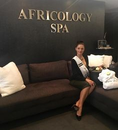 We had the beautiful @demileighnp @official_misssa visit our Africology Spa at @themaslowhotel today. Making Africology her home for all things wellness and holistic for her year of reign   #allnatural #skincare #africology #misssa2017 #chemicalfree #antianimaltesting #empoweringwoman