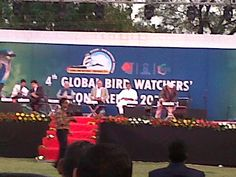 4th Global Bird Watchers Conference held at Adalaj, Gujarat India From 31st -3rd February, 2014