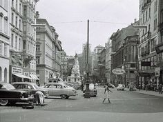 Good Old Times, Street View, History, Vintage, Vienna, Yesterday And Today, Old Pictures, Remember This, History Books