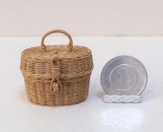 ミニチュア  ミニチュアバスケット  dollhouse  miniature  miniature basket