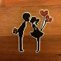 Loving Couple hama beads by Dear Robin