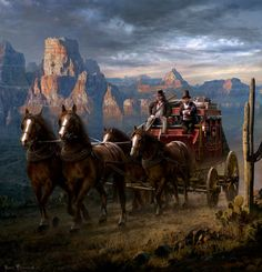 By Sarel Theron Westerns, West Art, American Frontier, Cowboy Art, Matte Painting, Le Far West, Mountain Man, Wildlife Art, Old West