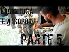 Tutorial Escultura em Isopor (Parte 5/6) - YouTube
