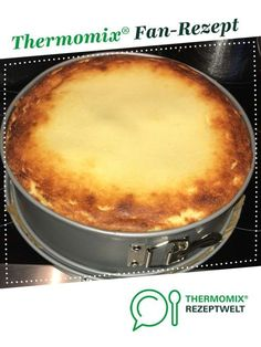 Ein Thermomix ®️️ Rezept aus der Kate… Quick cheesecake from Blondelady. A Thermomix ®️️ recipe from the category baking sweet www.de, the Thermomix ®️️ community. Quick Dessert Recipes, Easy Cake Recipes, Baking Recipes, Snacks Recipes, Drink Recipes, Cheesecake Thermomix, Cheesecake Desserts, Food Cakes, Summer Recipes