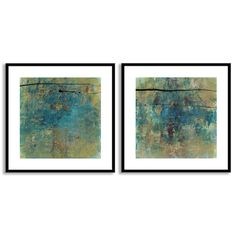 Jane Bellows's 'By Chance I' and 'III' Art Two Piece Set