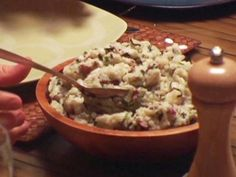 Get Basil Chive Red Potato Mash Recipe from Food Network