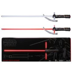 10fea3d1068d Star Wars The Force Awakens Kylo Ren FX Deluxe Lightsaber