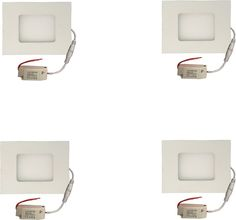 Galaxy Galaxy 3 watt Led panel light Square,Cool white with 2 years warranty Set of 4 Recessed Ceiling Lamp Price in India - Buy Galaxy Galaxy 3 watt Led panel light Square,Cool white with 2 years warranty Set of 4 Recessed Ceiling Lamp online at Flipkart.com
