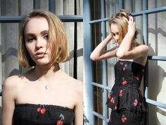 Lily-Rose Depp's Oyster Magazine Fashion Editorial - Johnny Depp, Vanessa Paradis Daughter
