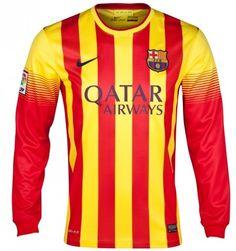 Barcelona 2013 14 Camiseta fútbol Segunda Equipación manga larga  031  -  €16.87 67ecfb5e16d7d