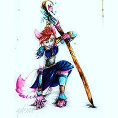 Selfmade draw of markers and ballpoint x #catsofinstagram #cat #cats #warrior #guardian #mage #markersketch #magic #ballpenart #ballpoint #wizard #neko #fantasy #illustration #handmade #selfmade #art🎨 #art