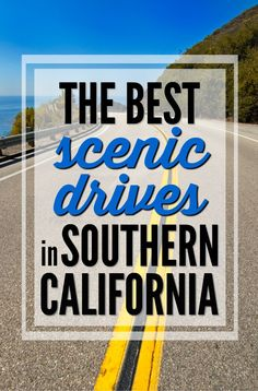 Hop in your car and explore all of the beautiful scenery in Southern California. Here are 5 of the very best scenic drives in Southern California. Best Family Vacation Spots, Family Vacation Destinations, Florida Vacation, Family Travel, Vacation Ideas, Vacations, Travel Destinations, California Love, California Travel