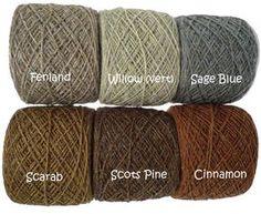 HOLSTGARN - 100% laine - Laine. Pour s'entrainer au tissage aux tablette ?