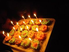 Birthday cupcakes! Birthday Cupcakes, Birthday Candles, Sweet Tooth, Sweets, Recipes, Anniversary Cupcakes, Gummi Candy, Candy