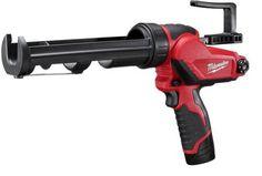 MILWAUKEE M12 10oz Caulk Gun K  http://www.handtoolskit.com/milwaukee-m12-10oz-caulk-gun-k/
