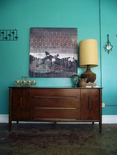 Vintage Ground: Mid Century Credenza / Sideboard / Buffet