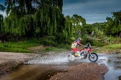 Givi-HRC Honda Rally Team Dakar 2016
