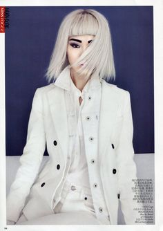 Jing Ma by Lincoln Pilcher for Vogue China February 2012  via Fashion Gone Rogue