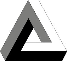 Just try and make sense of the Penrose Triangle