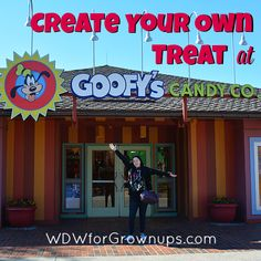 Create Your Own Confectionary Treat At Goofy's Candy Company