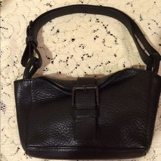 Via Spiga black mini leather purse Preowned but in very good condition. Took good care of this genuine purse! Via Spiga Bags
