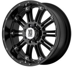 XD Series Wheels XD795 - 17 inch 17x9.0 Matte Black Off Road Wheels