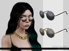 Lennon Glasses by LeahLillith - Sims 3 Downloads CC Caboodle
