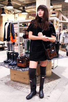 Natalie off Duty - Hosting with HUNTER BOOTS X UO